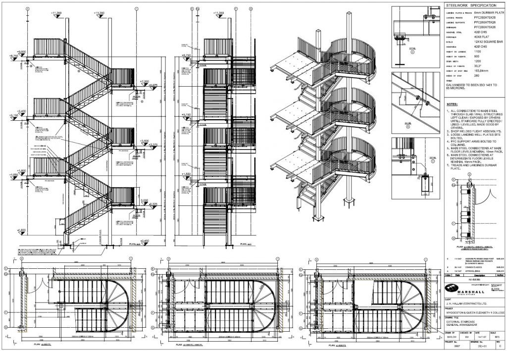 GRAITEC Autodesk Advance Steel   Automated drawing creation