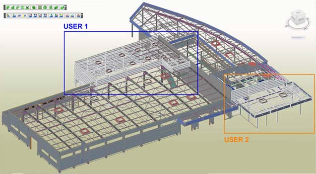 GRAITEC Autodesk Advance Steel   Multi-user collaboration