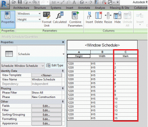 Linking an Autodesk Revit® project to a Microsoft Excel spreadsheet