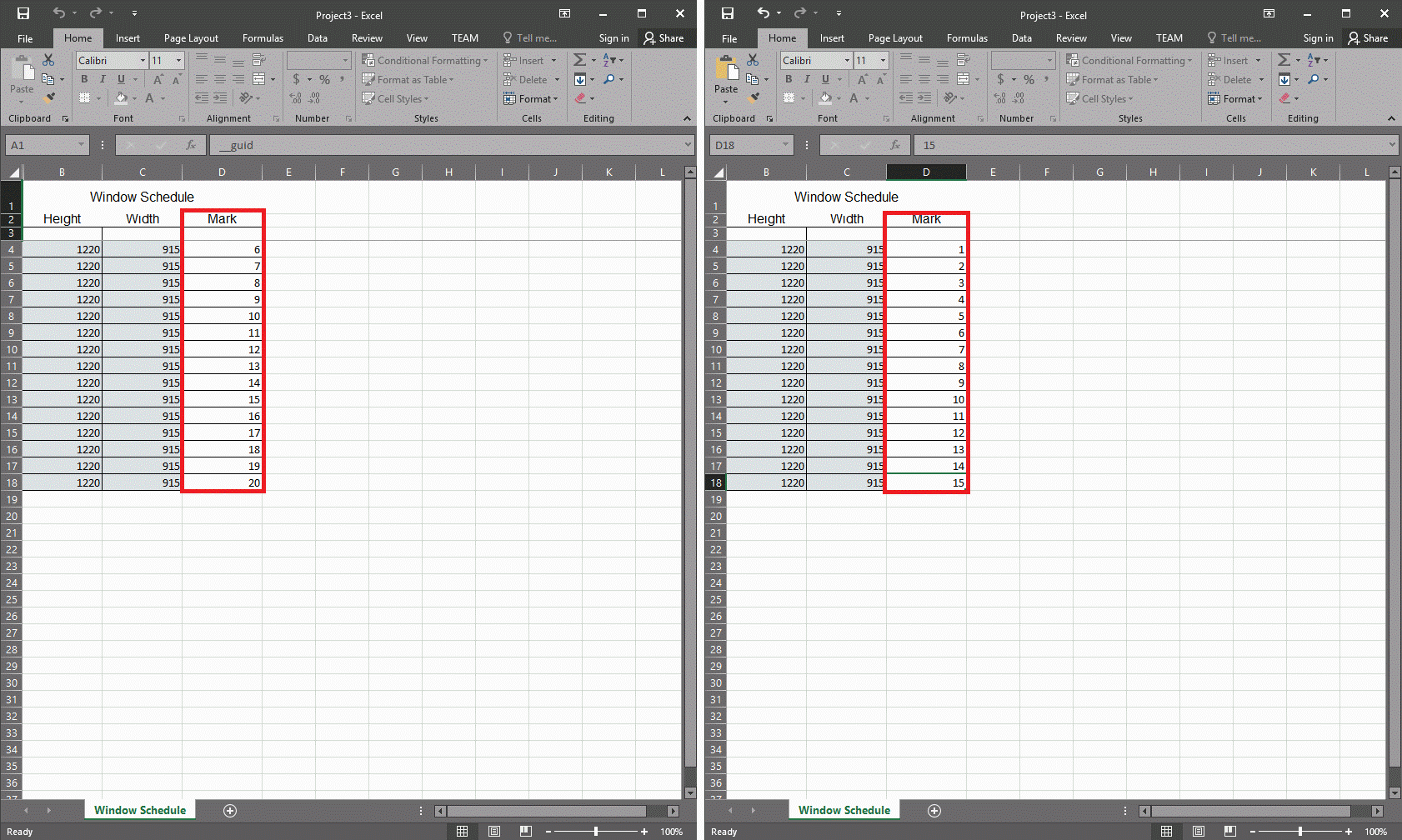 GRAITEC PowerPack for Revit | Link to Excel