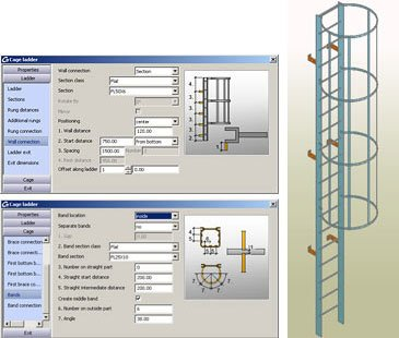 Stairs and Railings - Autodesk Advance Steel - Graitec USA