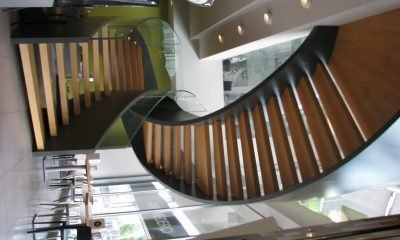 autodesk-advance-steel stairs