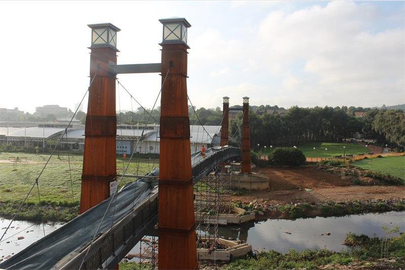 Bruma Lake Bridge