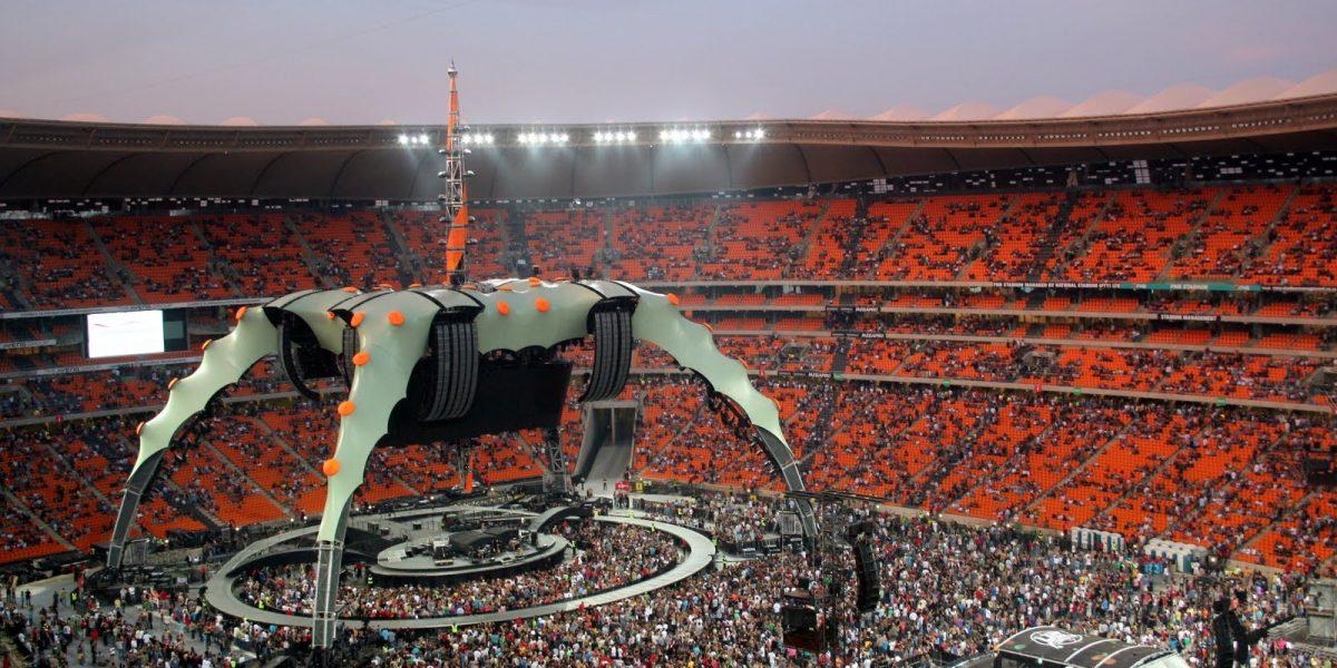 U2 360° TOUR STAGE