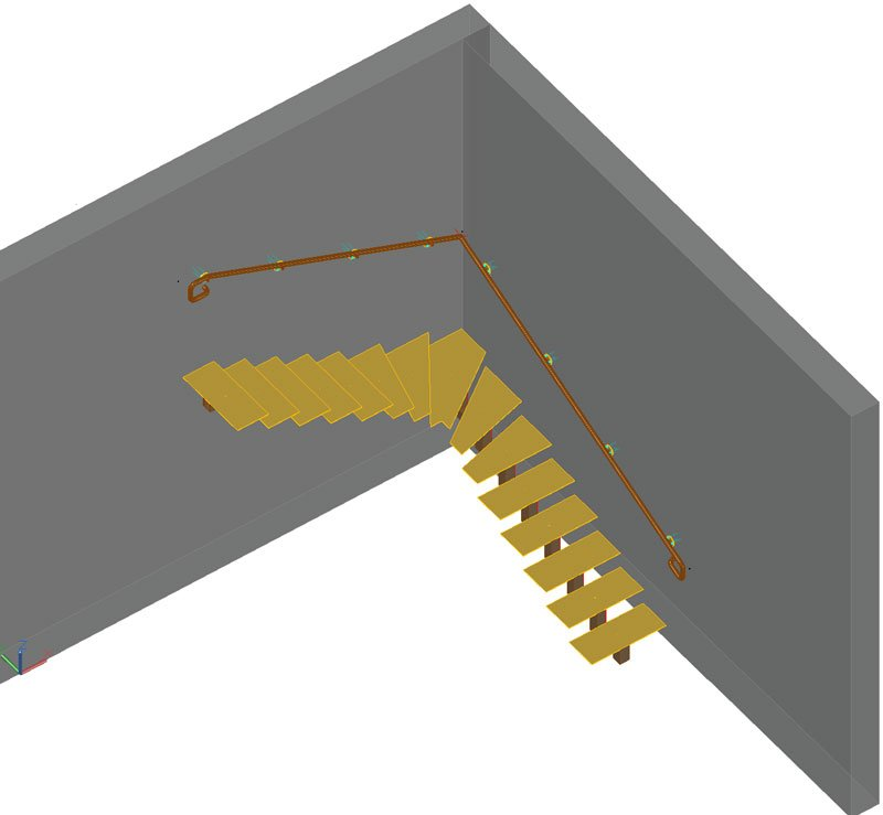 GRAITEC Advance BIM Designers | Balanced Stair